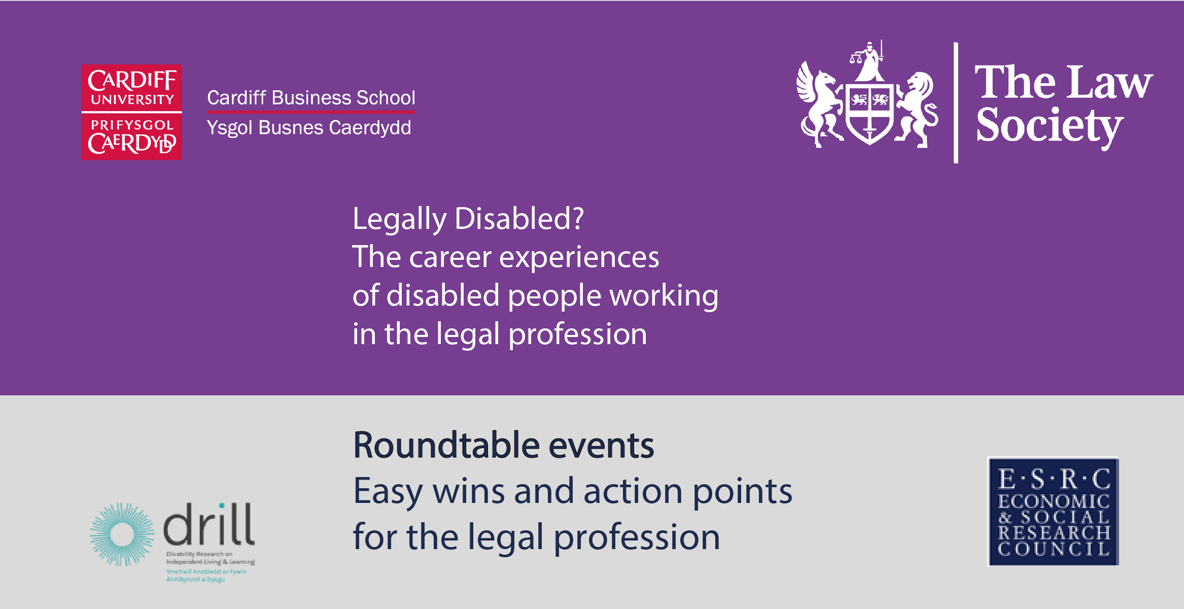 legally disabled roundtable events easy wins and action points for the legal profession